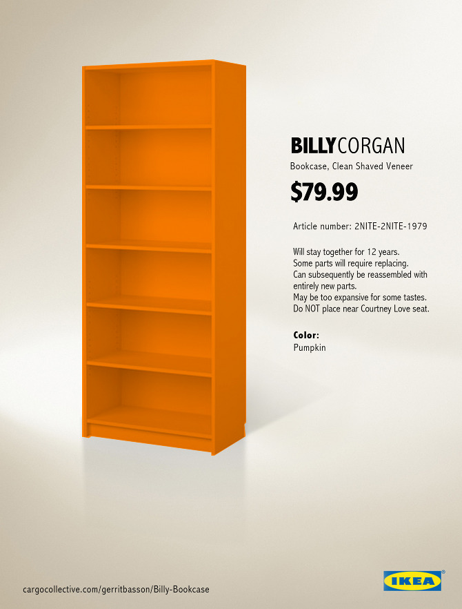 - Billy Bookcase - Gerritbasson