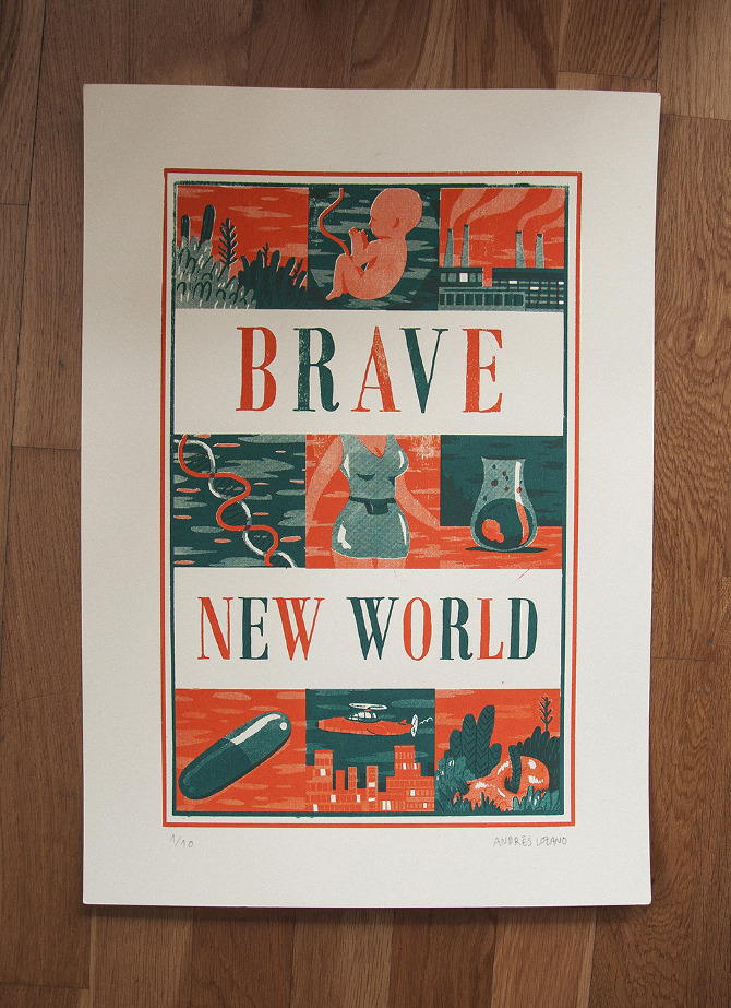 propaganda in the brave new world Can someone give me a list of example, from auldus huxely's brave new world, on the propaganda he used.