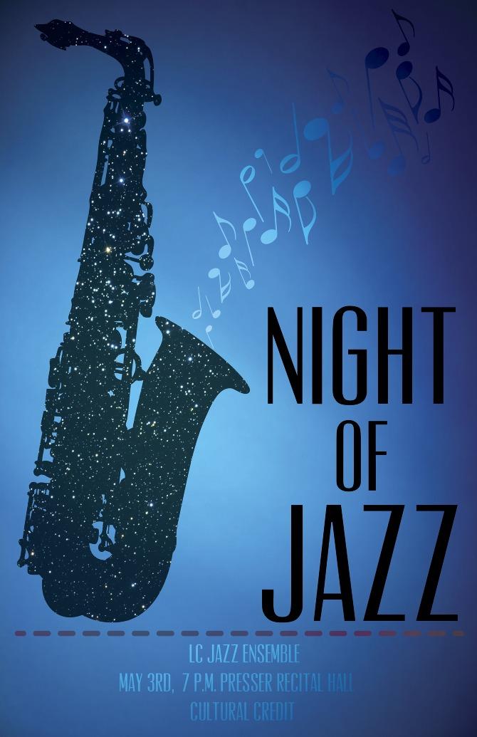 Jazz Concert Poster Design